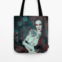 asia Tote Bags featuring Asia by Sirenphotos