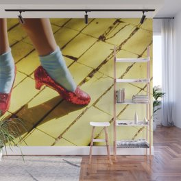 The character Dorothy models Wall Mural