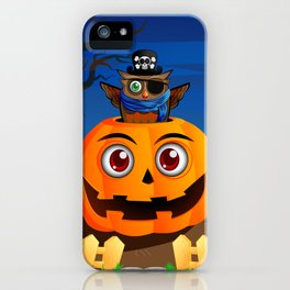 Halloween Owl iPhone Case