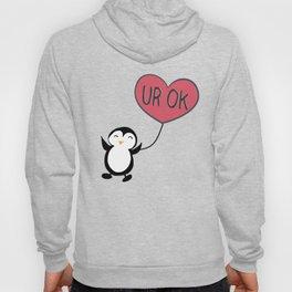 UR OK Penguin in love Hoody