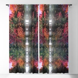 Tree Waves Blackout Curtain