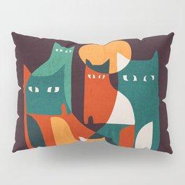 Cat Family Pillow Sham