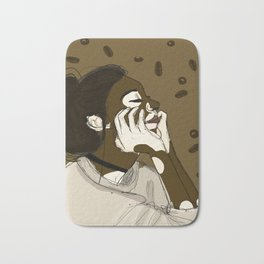 Coffee and Cream Bath Mat