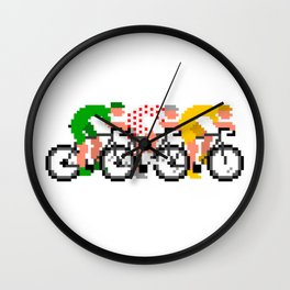 Pixel Tour Leaders® Wall Clock