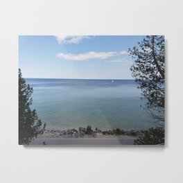 Out for a sail Metal Print