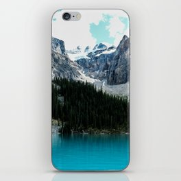 Moraine lake Wander (landscape) iPhone Skin