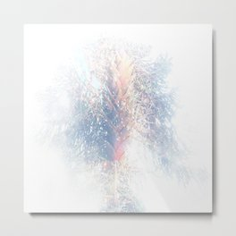 Where the sea sings to the trees - 6 Metal Print