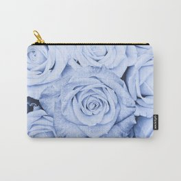 Some people grumble - Blue Rose, Floral Roses Flower Flowers Carry-All Pouch