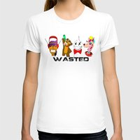 wasted rita T-shirts featuring WASTED by Indigo Blak