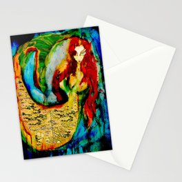 Crystal Mermaid  Stationery Cards