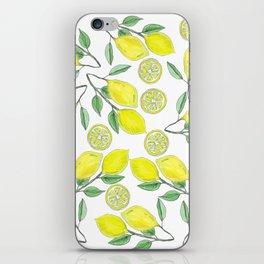 Life handed me lemons iPhone Skin