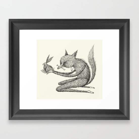 'Offering' (Simplified) Framed Art Print