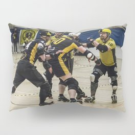 Tyne and Fear on the offense Pillow Sham