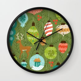 Mid Century Ornaments - Traditional Wall Clock