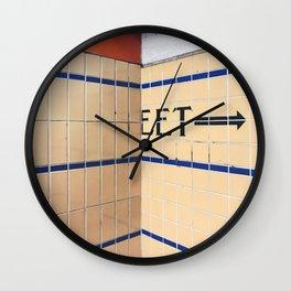 eet Wall Clock