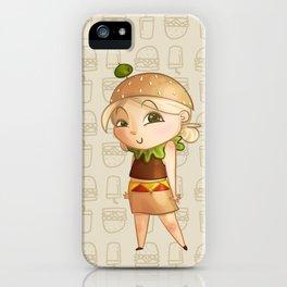 Mini Burger iPhone Case