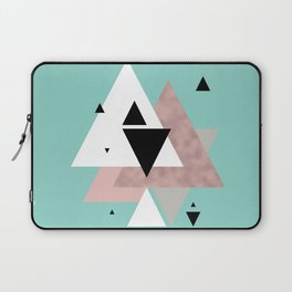 Modern triangles Laptop Sleeve