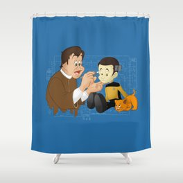 Human Hopeful  Shower Curtain
