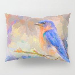 Bring On The Bluebirds Pillow Sham