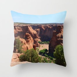 The Beauty of Canyon de Chelly Throw Pillow