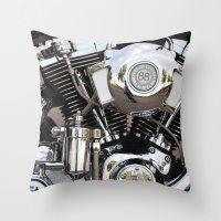 harley Throw Pillows featuring Harley  by Marieken