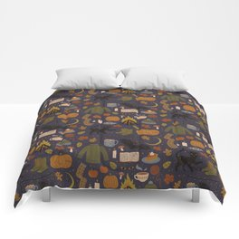 Comforters society6 autumn nights comforters gumiabroncs Images