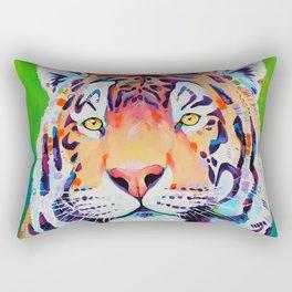 "Tiger art ""Shining Bright"" Rectangular Pillow"