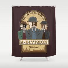 H-Division  Shower Curtain