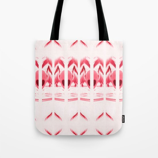SPIRIT PATTERN #2 #Red Tote Bag