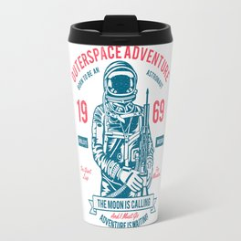 Outer space Adventure - Born to be an astronaut Travel Mug