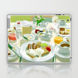 Breakfast at a Hotel Laptop & iPad Skin