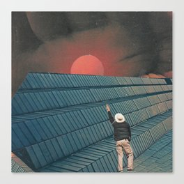 Mndsgn - breatharian Canvas Print