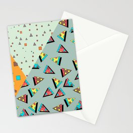 memphis style patttern Stationery Cards