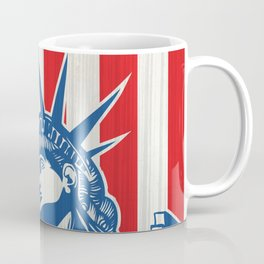 statue of liberty with torch Coffee Mug