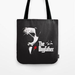 The Dogfather Tote Bag