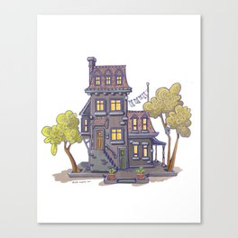 Ze house Canvas Print