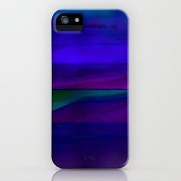 Seascape At Night iPhone Case