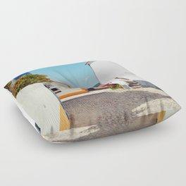 Obidos, Portugal (RR 177) Analog 6x6 odak Ektar 100 Floor Pillow