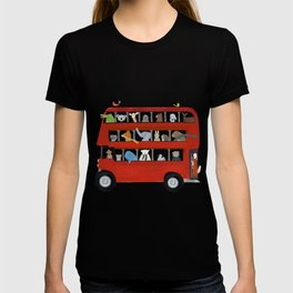 the big little red bus T-shirt