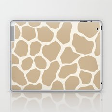 Giraffe Animal: Camel Cream Laptop & iPad Skin
