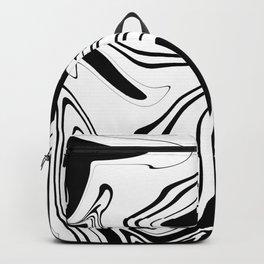 Stripes, distorted 1 Backpack
