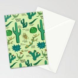 Native Desert Plants Stationery Cards