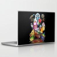 zelda Laptop & iPad Skins featuring Zelda Time! by Yiji