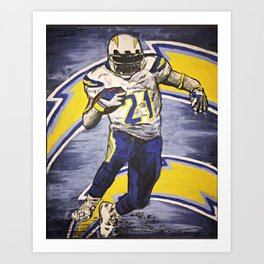 CHARGERS Art Print