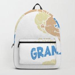 Best Grandma Grandmother Grandson Granddaughter Fan Gift Idea Backpack