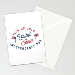 The Independence Day Art II Stationery Cards