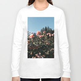 The Rose Garden: Faded Long Sleeve T-shirt