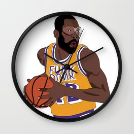 Los Angeles Basketball Legend Wall Clock