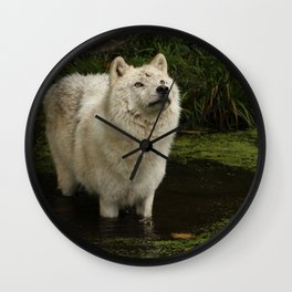Waiting for a sign Wall Clock