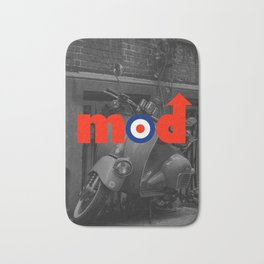 Mod Music Quote Bath Mat